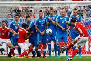 Wales vs Slovakia Bale