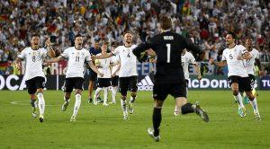 Germany 1-1 Italy (6-5 pens)